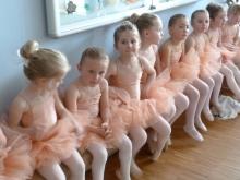 Ballett Auftrittsvorbereitung