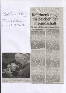 Der Pressebericht des Freisinger Tagblattes