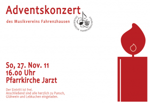 Flyer Adventskonzert 2011