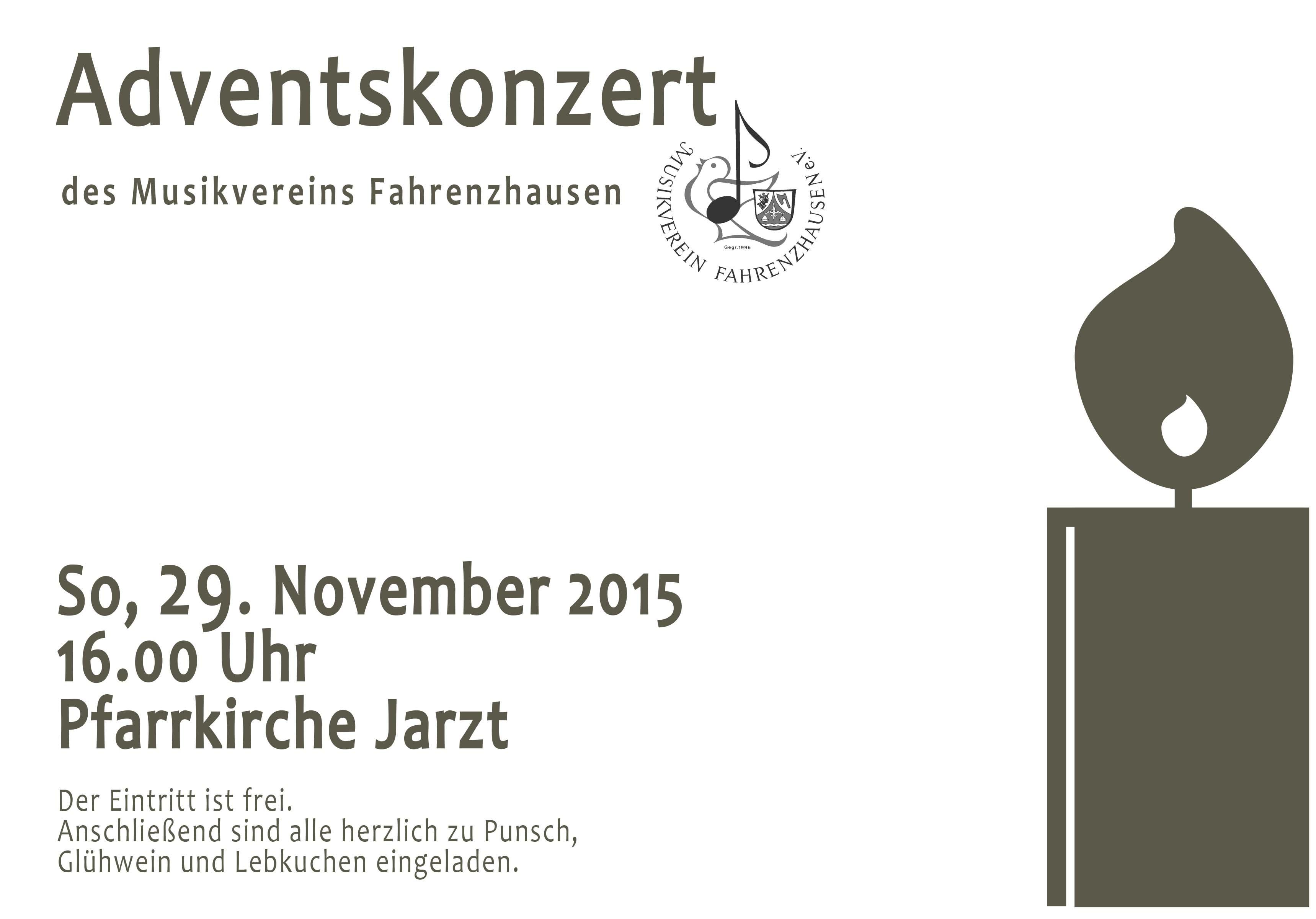 2015-11 Plakat Adventskonzert