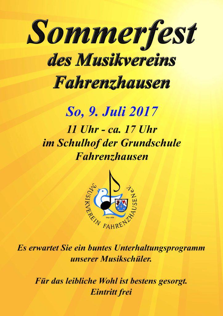 Sommerfest 2017 @ Schulhof der Grundschule Fahrenzhausen | Fahrenzhausen | Bayern | Deutschland