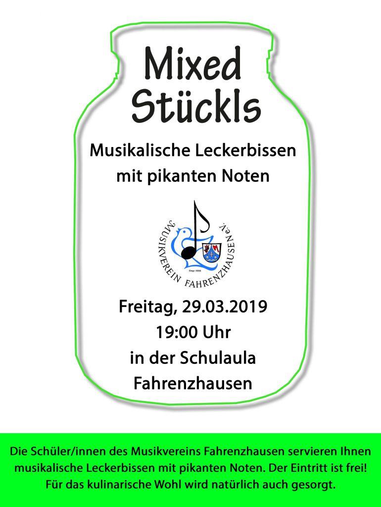 Mixed Stückls 2019 @ Schulaula Grundschule