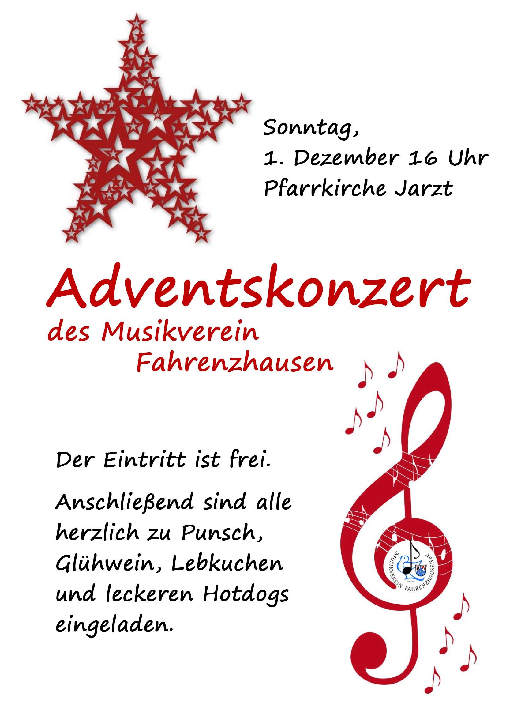 Adventskonzert 2019 @ Pfarrkirche Jarzt